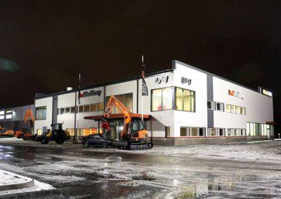 REAL MACHINERY OY, KORJAAMO- JA TOIMISTORAKENNUS, LEMPÄÄLÄ, 2014